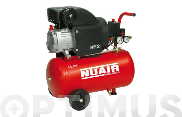 Compresor con aceite red line rc2-2hp 24 l