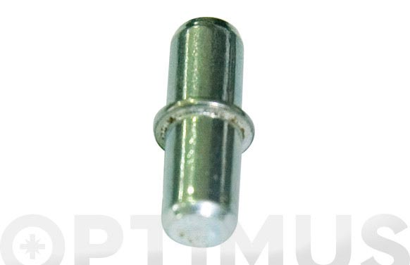 Portaestante niquelado (12 pz) 5 mm
