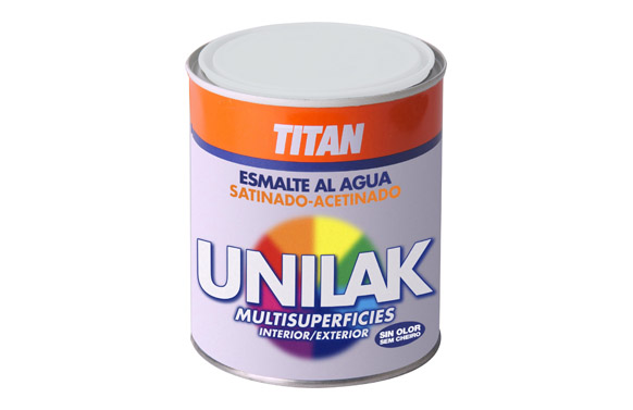 Esmalte unilak satinado 750 ml marron