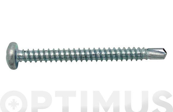 Tornillo autotaladrante cabeza alomada 12 uds 3,9 x 19 mm