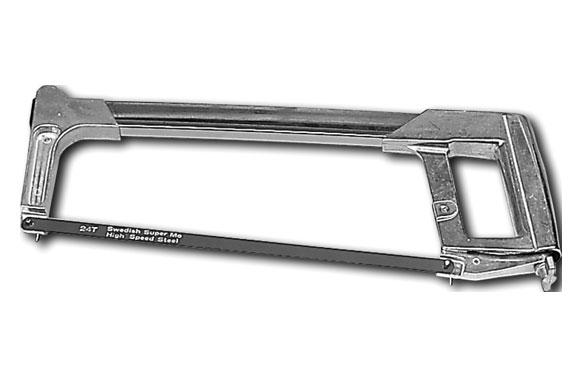 Sierra de arco para metales 300 mm tubo cuadrado