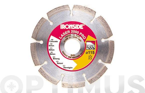 Disco diamante segmentado laser 2000-125