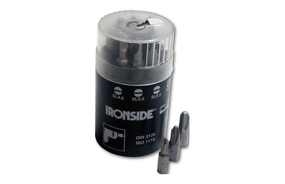 """Puntas atornillar de ¼"""" en cilindro dispensador 9 puntas + adaptador magnético"""