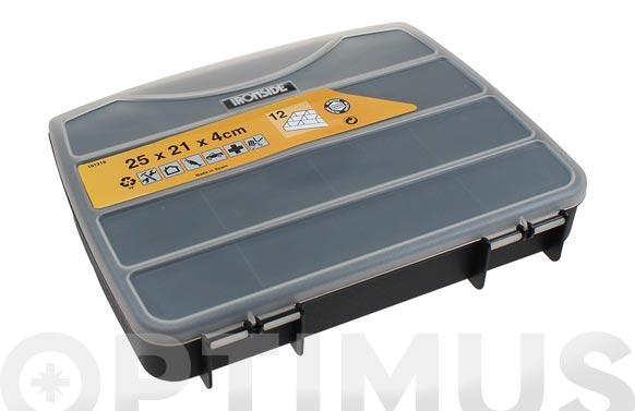 Clasificador maletin polipropileno 250 x 210 x 40 mm 12 compartimentos fijos