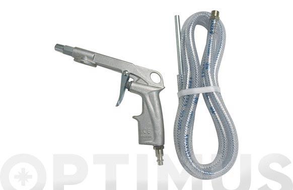Pistola rafaga arena c/tubo 2 m