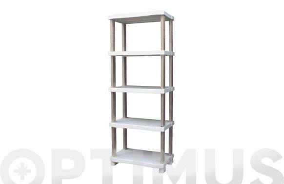 Estanteria 5 estantes 184 x 70 x 45 cm