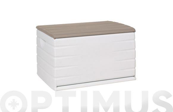 Baul resina beige 120 x 61 x 53 cm