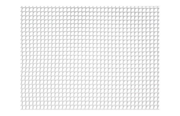 Malla cuadranet (malla 5x5mm) 300gr/m2 1 x 5 m blanca