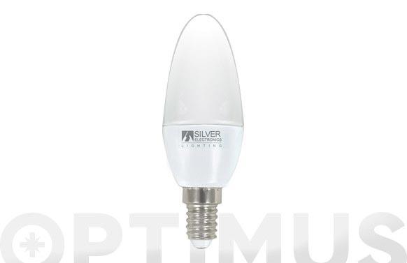 Lampara led vela 4,5w e-14 luz calida(3000k)
