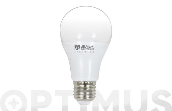 Lampara led estandar 7w e-27 luz calida(3000k)