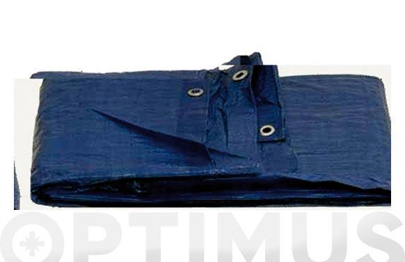Toldo polietileno standard 120gr 5 x 8 m azul