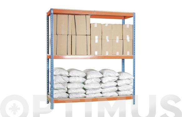 Estanteria simontaller st1806-3 200 x 180 x 60 cm 3 estantes