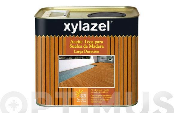 Aceite teca suelos larga duracion teca 2,5 l