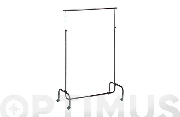 Barra perchero alto regulable 45x97 cm