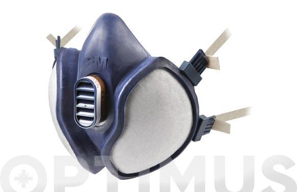 Mascara ffa1p2 r d (mosca) 4251 reutilizable y desechable por saturacion