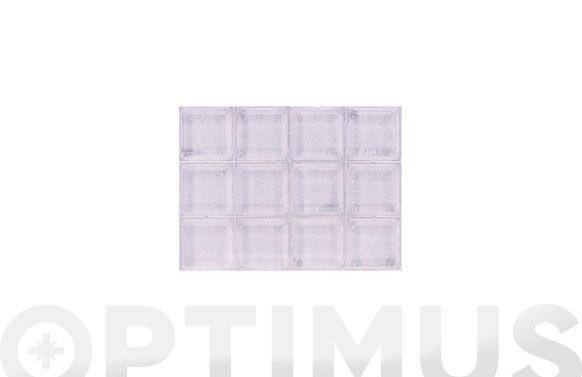Gota adhesiva transparente ø 12,7 x 12,7 x 3,1 mm