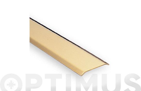 Tapajuntas adhesivo laton 985 mm intermedio