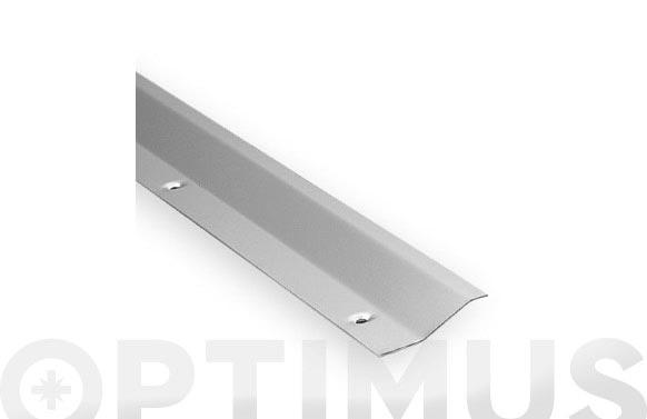 Tapajuntas con tornillos 985 mm acero/inox