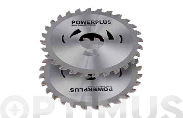 Discos sierra p/dual saw 115 mm, 28 dientes juego de 2 unidades