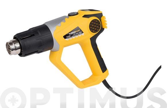 Decapador con cable 1800w 60-600.+accesorios