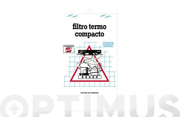 Filtro campana universal espuma 120cm recortable