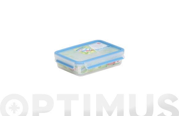 Contenedor hermetico rectangular 1,2 l