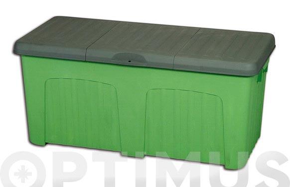 Baul pandora verde 125x57x57