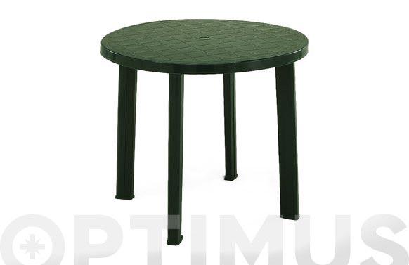 Mesa redonda tondo verde diam 90 cm