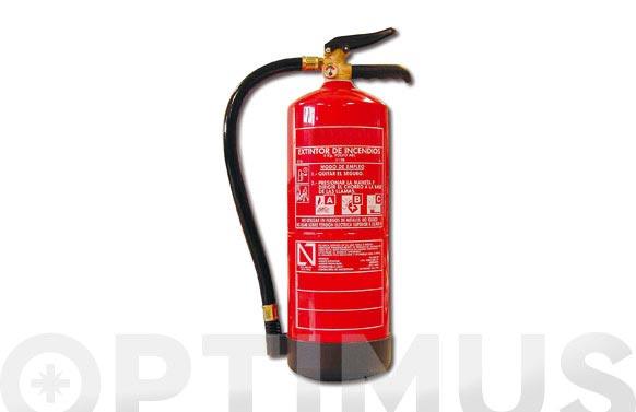 Extintor polvo abc 6 kg