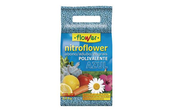 Abono nitroflower azul 2,50 kg