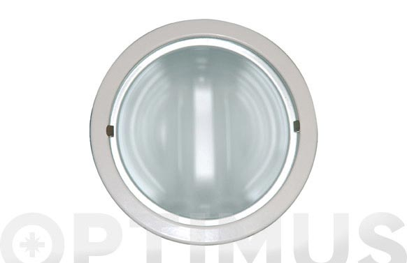 Downlight red 2x15 w + bombilla 2 uds blanco