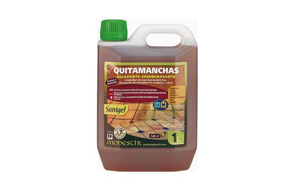 Limpiador suelos quitamanchas decapante sanigel 2 l