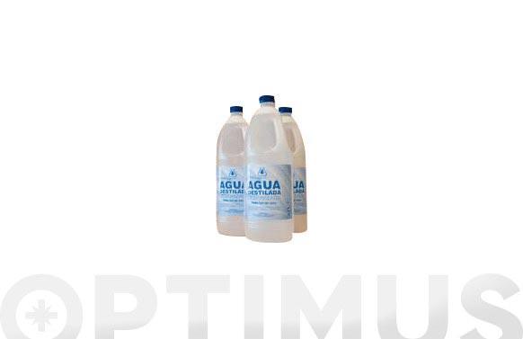 Agua destilada 2 l