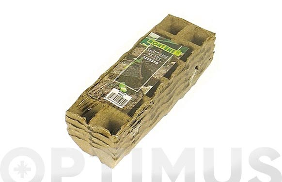 Bandejas de turba 5x5x5 pack 10 uds