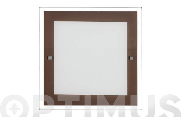 Plafon kin wengue 2x20w e-27 30x30x4cm