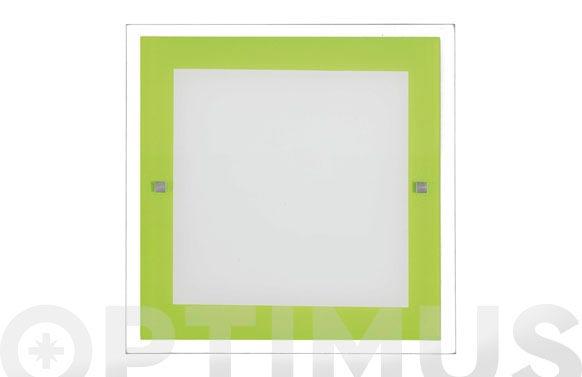 Plafon kin pistacho 2x20w e-27 30x30x4cm