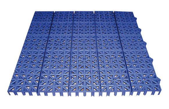 Loseta inerflex 33 x 33 cm azul oscuro