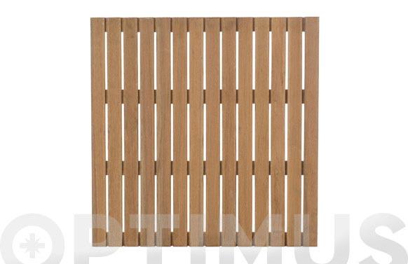 Tarima madera malaga bangkirai 100x100 cm