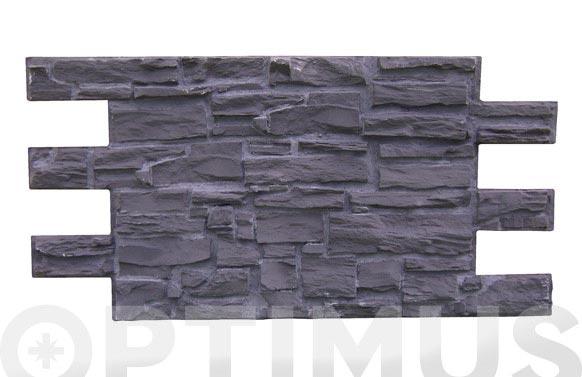 Panel piedra pyrenean 1,2x0.60 mt negra
