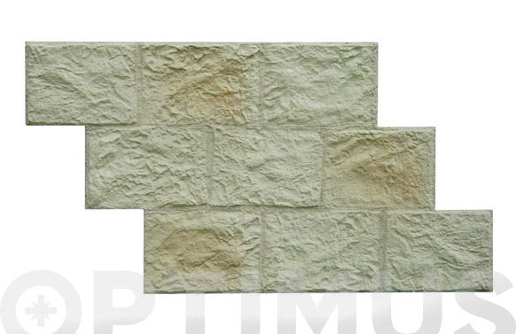Panel piedra imperial 1,2x0,60 mt bodega