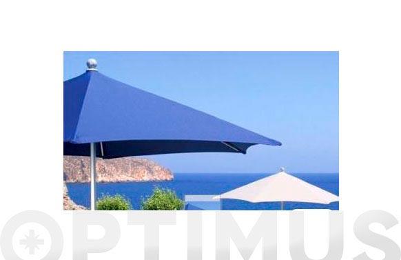 Parasol aluminio redondo 232cm - crudo