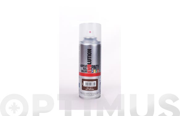 Pintura spray acrilica brillo 270 cc ral 8011 marron