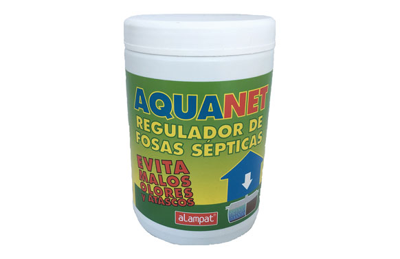 Regulador fosas septicas aquanet 800 gr