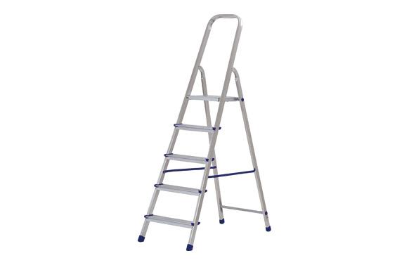 Escalera aluminio domestica 3 peldaños