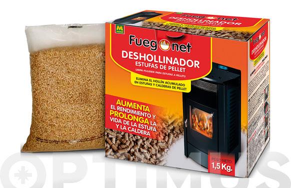 Deshollinador estufas pellet