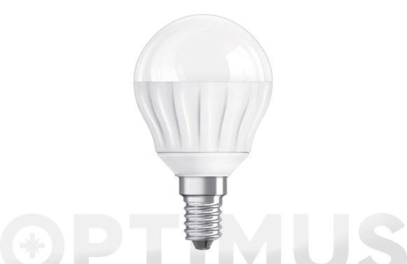 "Bombilla led clas p 25 4w e-14 esferica ""parathom"" luz calida"