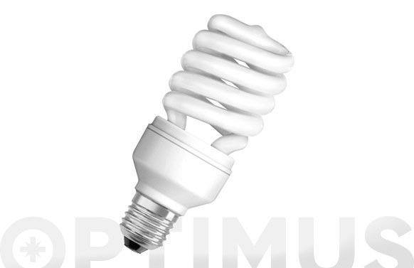 Bombilla bajo consumo duluxstar mini twist 23w/825 e27