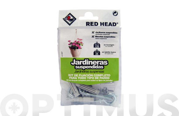 Kit jardineras suspendidas kc 149 ep