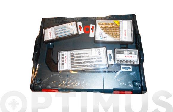 Maletin l-boxx + set brocas + puntas