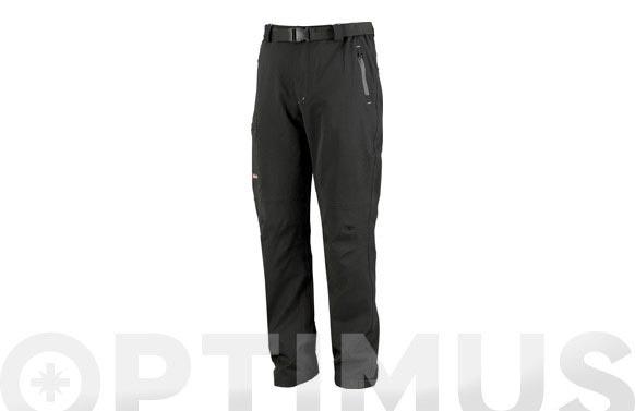 Pantalon softshell impermeable t m negro